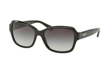 782e59b9e407b Coach L145 HC8160 Single Vision Prescription Sunglasses HC8160-500211-56 -  Lens Diameter 56