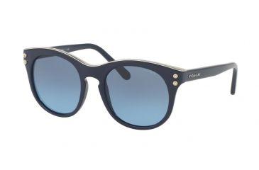 a51656d106 Coach L1611 HC8190 Sunglasses 542217-51 - Navy Frame