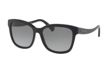 ce283e53ee1d ... denmark coach l1656 hc8219 sunglasses 500211 56 black frame grey  gradient lenses c7adf d870e