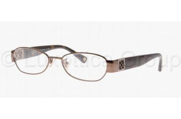 Coach REINA HC5002B Progressive Prescription Eyeglasses 9027-4716 - Dark Brown