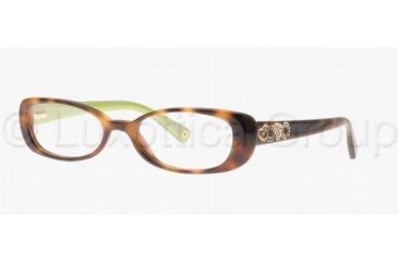 Coach SAIGE HC6016 Bifocal Prescription Eyeglasses 5052-4616 - Tortoise