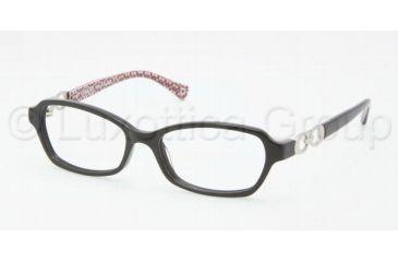 Coach VANESSA HC6017 Single Vision Prescription Eyeglasses 5034-5015 - Black