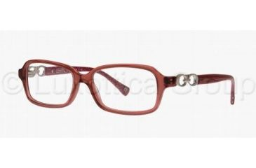 Coach VIRGINIA HC6018 Single Vision Prescription Eyeglasses 5032-5115 - Burgundy