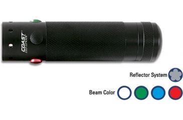 Coast 4 Color Recon Torch Tactical Use Light LL77364