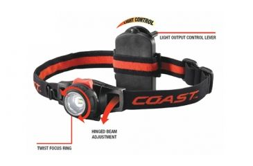 Coast HL7 183 Lumen Focusing LED Headlamp - Box 19273