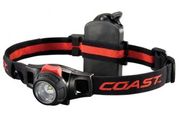 Coast HL7R 130 Lumen Rechargeable Focusing LED Headlamp - Clam Pack TT7498CP