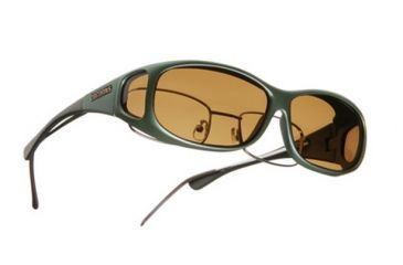 Cocoons Mini Slim Over-the-Glasses Sunglasses, MS Ivy Frame, Amber Lenses C411A
