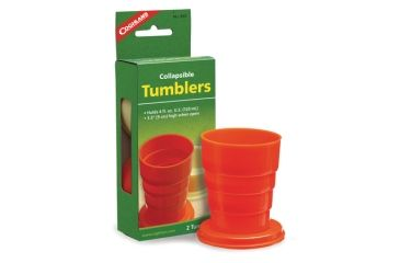 Coghlans Collapsible Tumblers 2 Per Pack