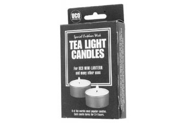Coghlans Compact Lantern Candles Pkg 6 805703