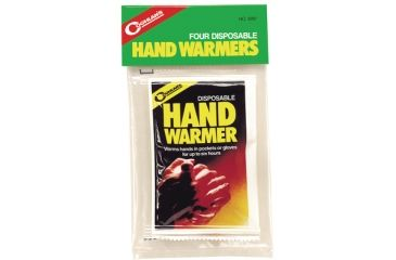 Coghlans Disposable Hand Warmers Twelve 4 Packs Per Case 8797