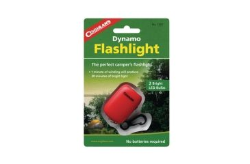 Coghlans Dynamo Flashlight With Key Ring Clip