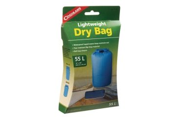 Coghlans Lightweight Dry Bag 12x30 Inches Blue