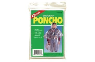 Coghlans Transparent Emergency Poncho 9676