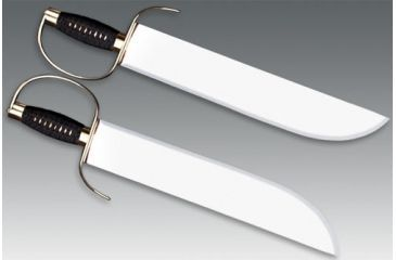 Cold Steel Butterfly Swords, Cord Wrapped Handle, Leather Scabbard 88BF