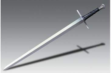 Cold Steel Hand-And-A-Half Sword, Leather/Wood Scabbard 88HNH