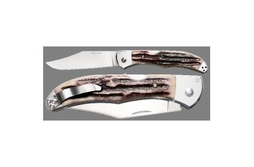 Cold Steel Lone Star Hunter Folding Pocket Knife, Nail Nick 54SBHN
