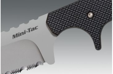5-Cold Steel Mini Tac 6.5in Tanto Fixed Blade Neck Knife