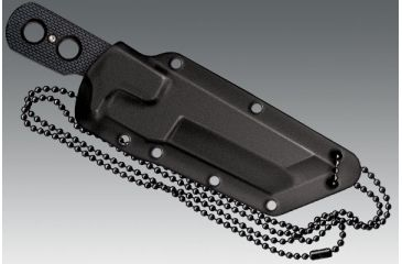 7-Cold Steel Mini Tac 6.5in Tanto Fixed Blade Neck Knife