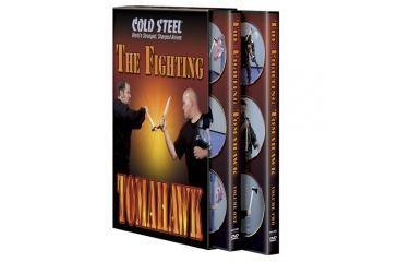 Cold Steel The Fighting Tomahawk 2 DVD Set VDFT