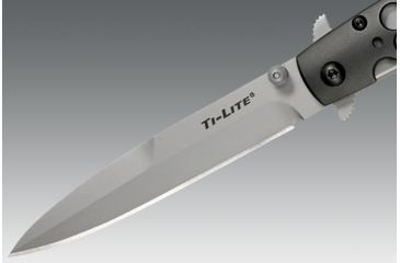 Cold Steel Ti-Lite, Aluminum Handle, 4 in Blade, Plain 26AST