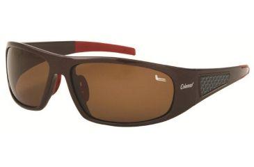 Coleman 6009 Single Vision Prescription Sunglasses - Brown Frame CC1 6009-C2RX