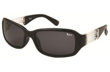 Coleman 6021 Polarized Sunglasses - Black Frame, Smoke Lenses CC1 6021-C1
