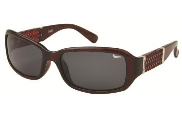 Coleman 6021 Polarized Sunglasses - Burgundy Frame, Smoke Lenses CC1 6021-C3