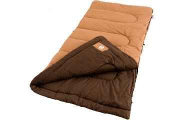 Coleman Cold Weather Rectangular Sleeping Bag, Dunnock Cold Weather 39in. x 81in. 187528