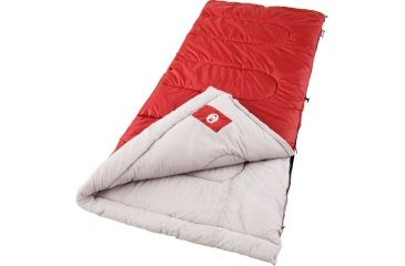 Coleman Cold Weather Rectangular Sleeping Bag, Palmetto Cool 33in. x 75in. 187515