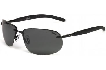 Coleman Convertible Sunglasses - Black Frame and Green Lens 842749030999