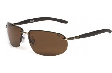 Coleman Convertible Sunglasses - Brown Frame and Brown Lens 842749031002