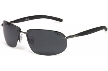 Coleman Convertible Sunglasses - Grey Frame and Smoke Lens 842749031019