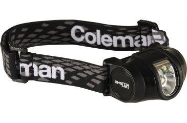 Coleman Headlamp, 3AAA, CHT 15, Grey/Black 187748