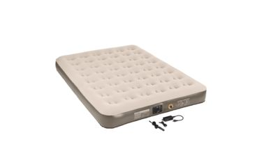 Coleman Quickbed Extra-High Airbed w/ Built-in Pump, AC/DC, Queen-Sized, 16 in. H x 6.75 in. W x 12 in. D 187568