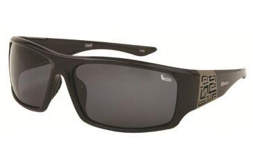 Coleman TR90 Fashion 6503 Polarized Sunglasses - Black Frame, Smoke Lenses CC2 6503-C1