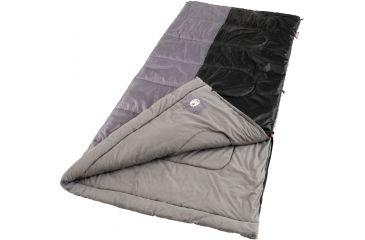 Coleman Weather Scoop Rectangle 39in. x 81in. Sleeping Bag, Biscayne Warm Weather 187523