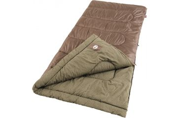 Coleman Weather Scoop Rectangle 39in. x 81in. Sleeping Bag, Oak Point Cool Weather 187527