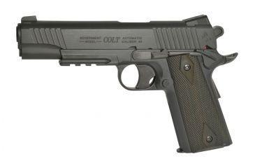 1-Colt Fixed Metal Slide Pistol, Airsoft Gun