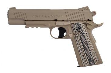 2-Colt Fixed Metal Slide Pistol, Airsoft Gun
