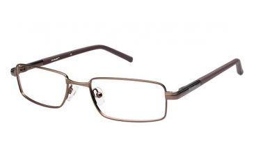 Columbia ACADIA Eyeglass Frames - Frame Matte Brown, Size 49/17mm CBACADIA01