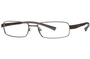Columbia Big Cypress Bifocal Prescription Eyeglasses - Frame Shiny Brown/Brown-Tank, Size 57/18mm CBBIGCYPRESS03