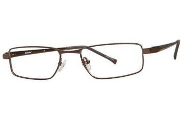 Columbia Bristol Bifocal Prescription Eyeglasses - Frame Shiny Brown, Size 51/18mm CBBRISTOL01