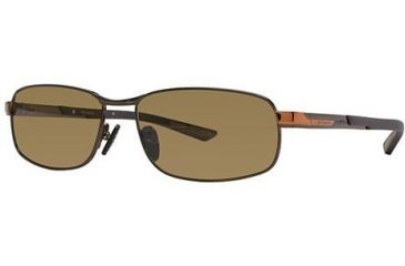 Columbia Bryce Bifocal Prescription Sunglasses CBBRYCEPZ01 - Frame Color: Shiny Chocolate Brown / Cedar