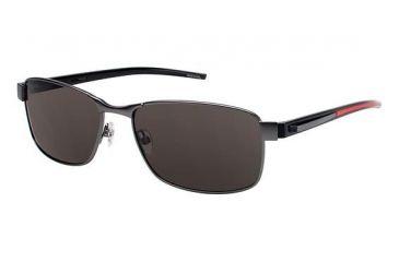Columbia CASCO PEAK Single Vision Prescription Sunglasses CBCASCOPEAK01 - Frame Color Matte Gun/Black