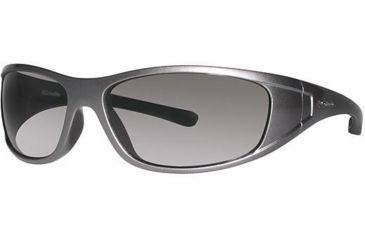 Columbia Chute Sunglasses - Frame Metallic Gunmetal-Shiny Black, Lens Color Brown, Size 62/15mm CBCHUTEPZ610