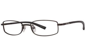 Columbia Comet Ridge Single Vision Prescription Eyeglasses - Frame Dark Brown/Brown, Size 45/16mm CBCOMETRIDGE01