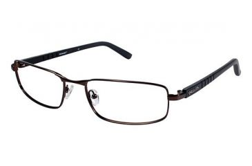 Columbia CROWN POINT 100 Single Vision Prescription Eyeglasses - Frame BROWN/BROWN, Size 59/19mm CBCROWNPT10002