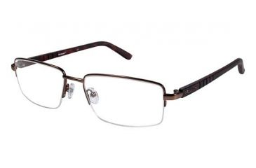 Columbia CROWN POINT 200 Eyeglass Frames - Frame BROWN/BROWN, Size 58/18mm CBCROWNPT20002
