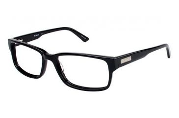 Columbia DESCHUTES Single Vision Prescription Eyeglasses - Frame BLACK, Size 58/17mm CBDESCHUTES02