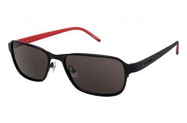 Columbia DILLON Bifocal Prescription Sunglasses CBDILLON01 - Frame Color Matte Black / Black